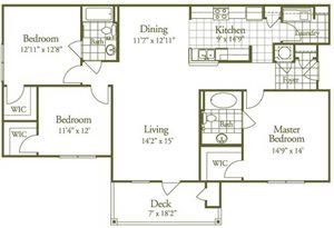 Three Bed/Two Bath Large