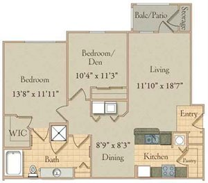 Two Bed /One Bath