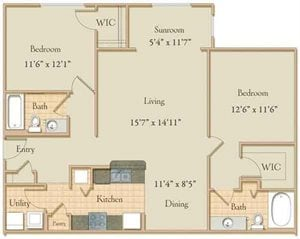 Two Bedroom Classic
