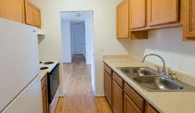 Kitchen of Apartments in Warren