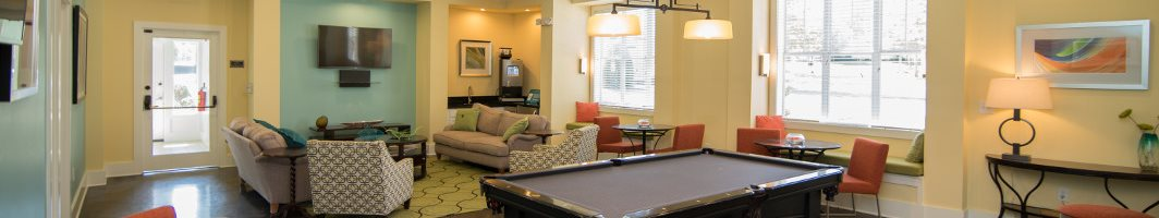 Residential Clubhouse at Hawthorne at the Greene in Charlotte North Carolina