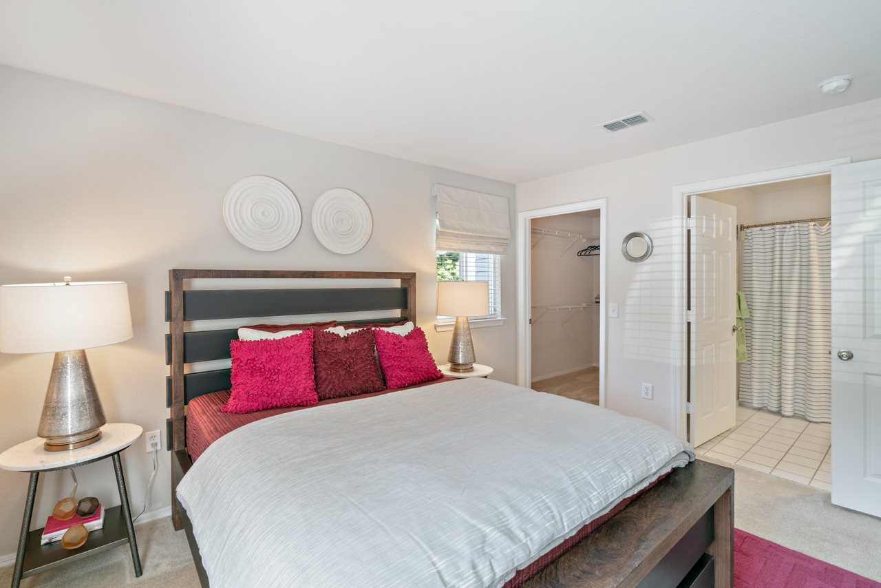 Model Floor Plan Bedroom at Hawthorne at the Peak