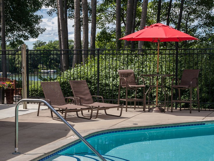 Outdoor Heated Pool at Lake Susan Apartments in Chanhassen, MN