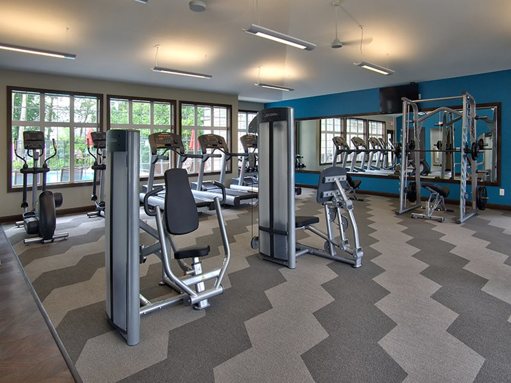 Fitness Club at Lake Susan Apartments in Chanhassen, MN