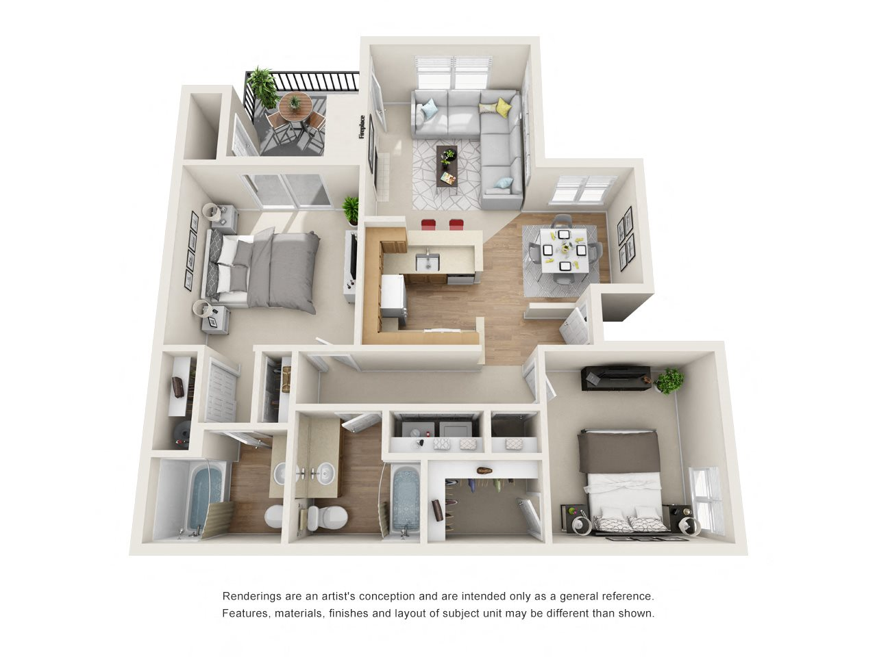 Comfortable Floor Plan 5