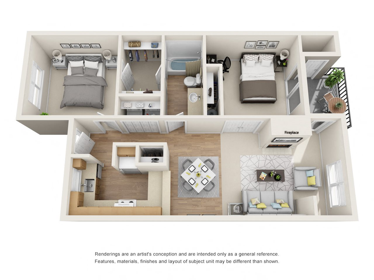 Executive Floor Plan 4