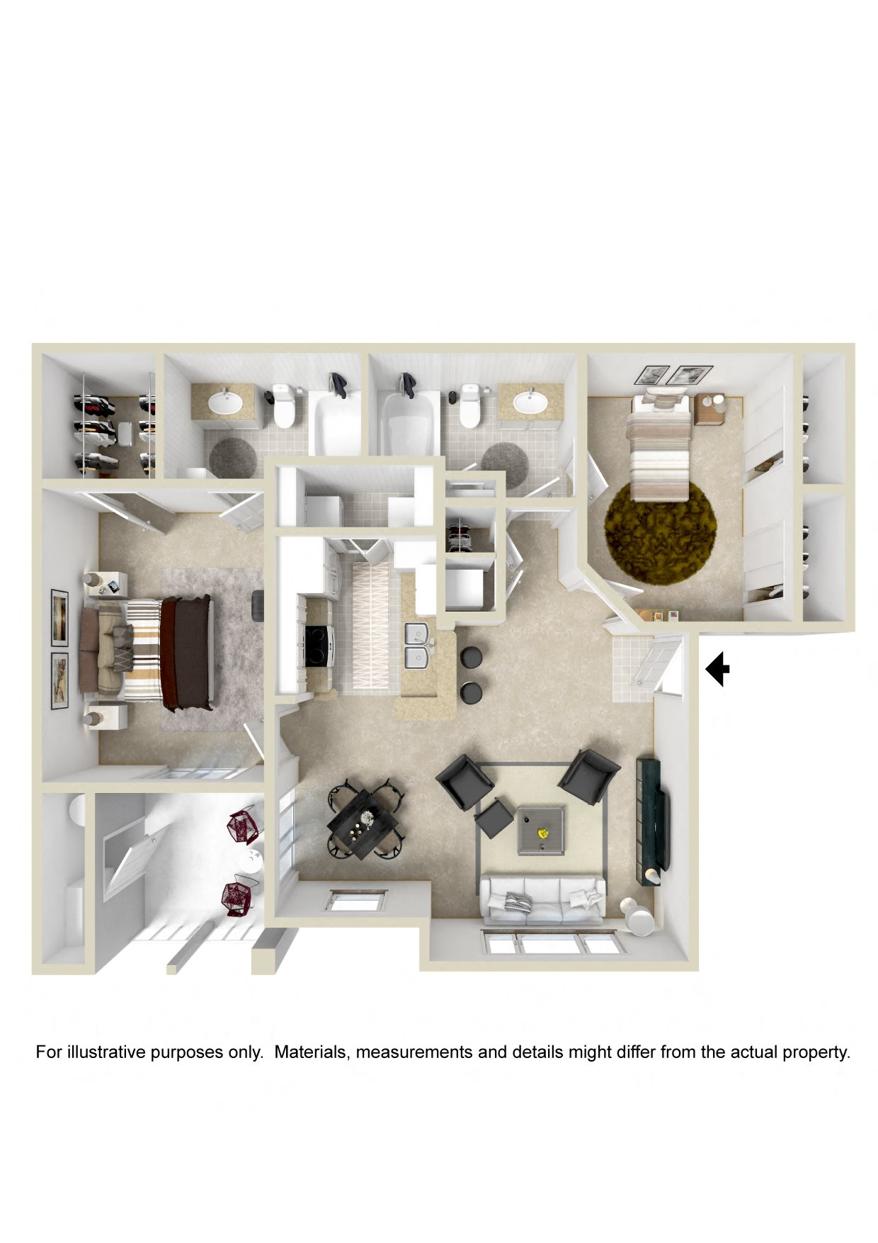 Pickering Floor Plan 4