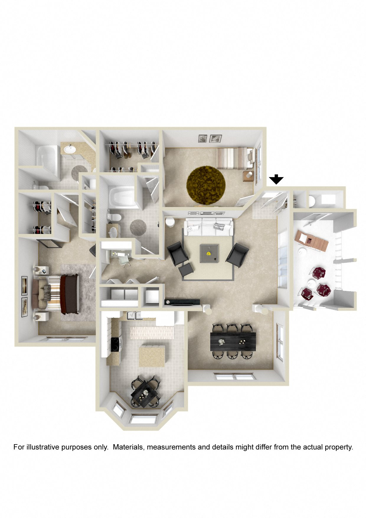 Ellenborough Floor Plan 6
