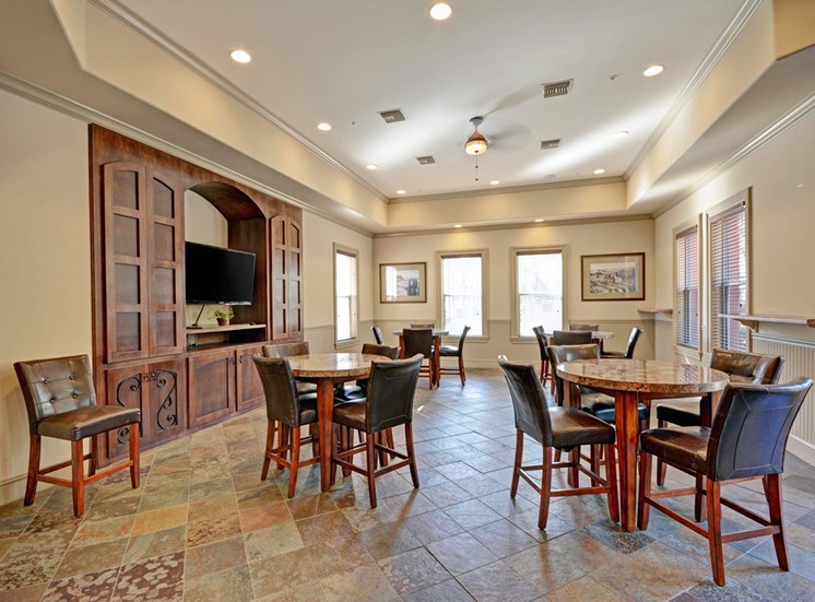 Stylish Clubhouse, at Missions at Sunbow Apartments, 5540 Ocean Gate Lane, CA