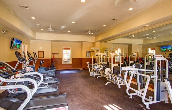 Professional-Grade Fitness Center, at Missions at Sunbow Apartments, Chula Vista, California
