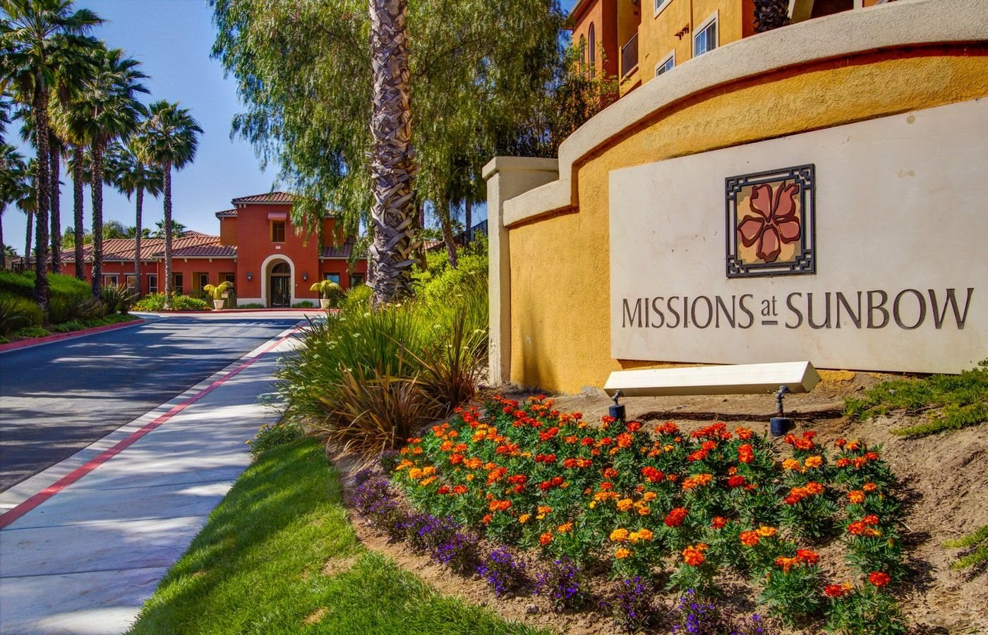 Monument Sign, at Missions at Sunbow Apartments, Chula Vista, CA