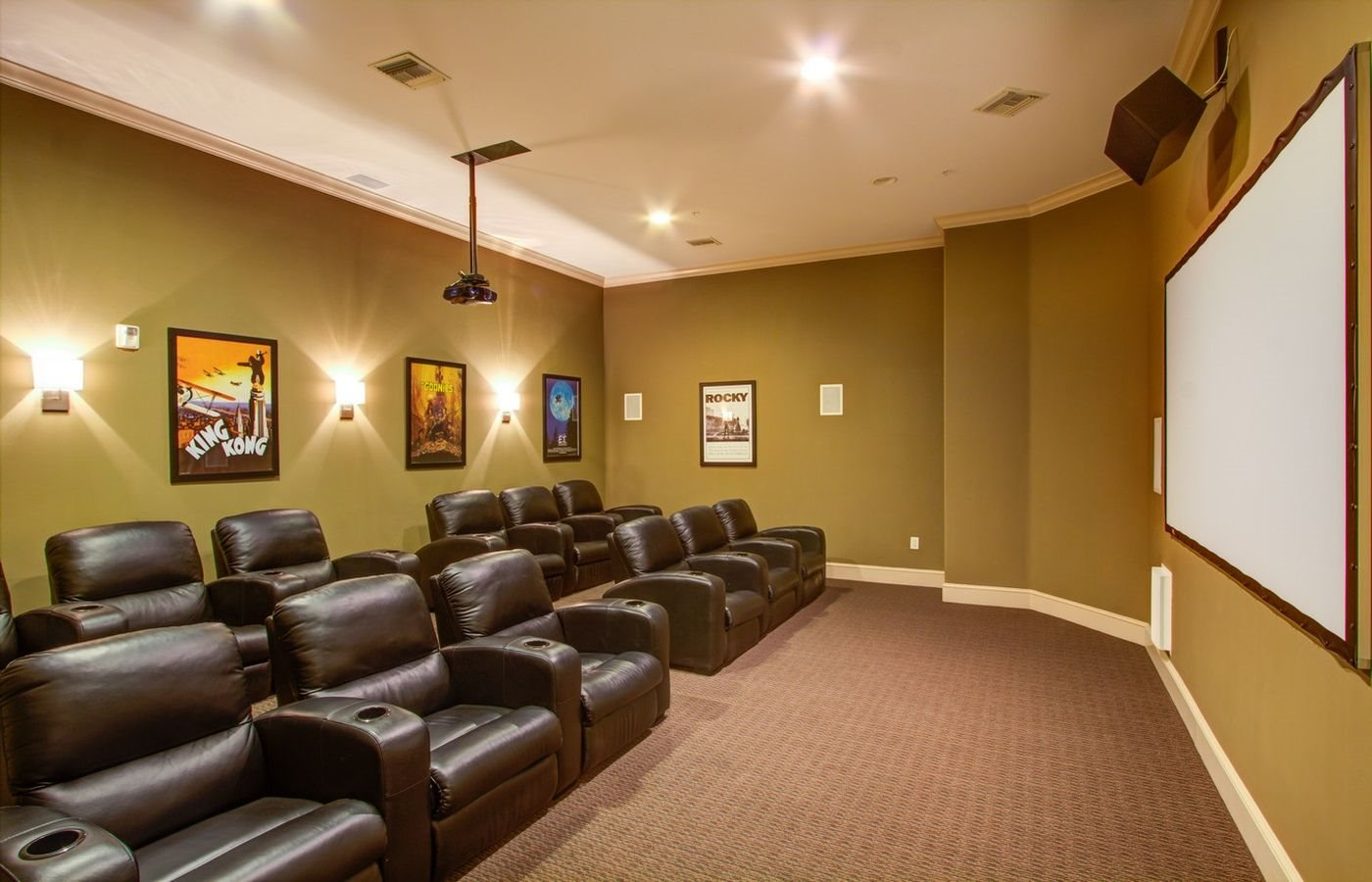 Community Media Room, at Missions at Sunbow Apartments, Chula Vista, California