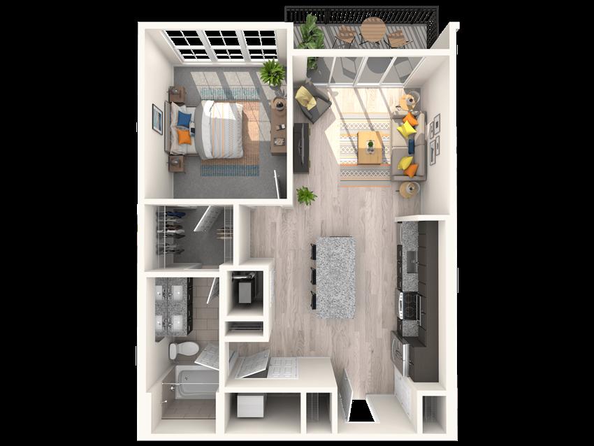 The Shirley A4 Floorplan