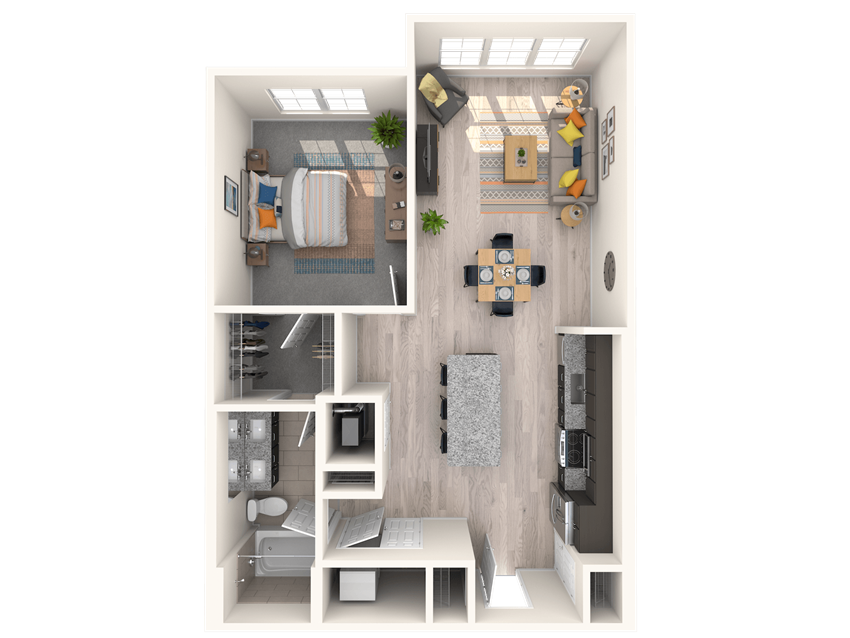 The Shirley A4 ML Floorplan