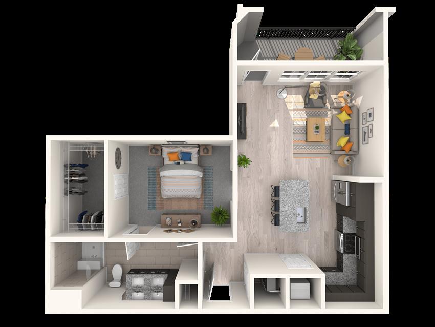 The Shirley A7 Floorplan