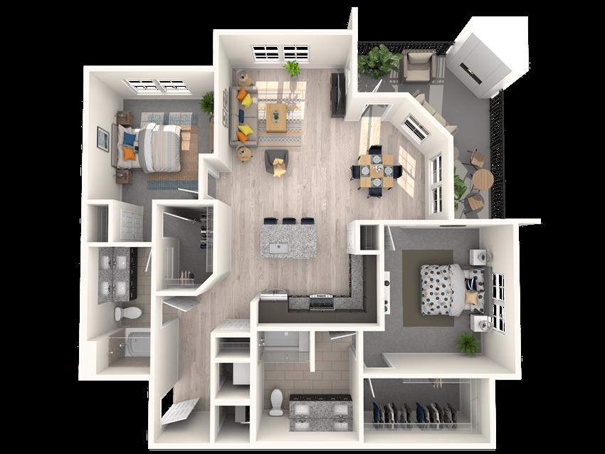 The Shirley B3 Floorplan