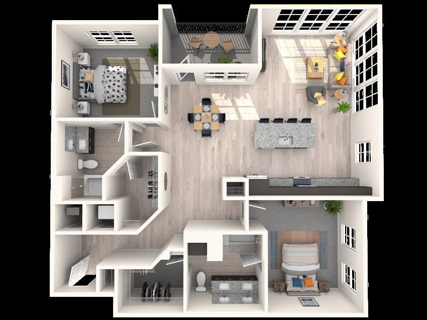 The Shirley B4 Floorplan