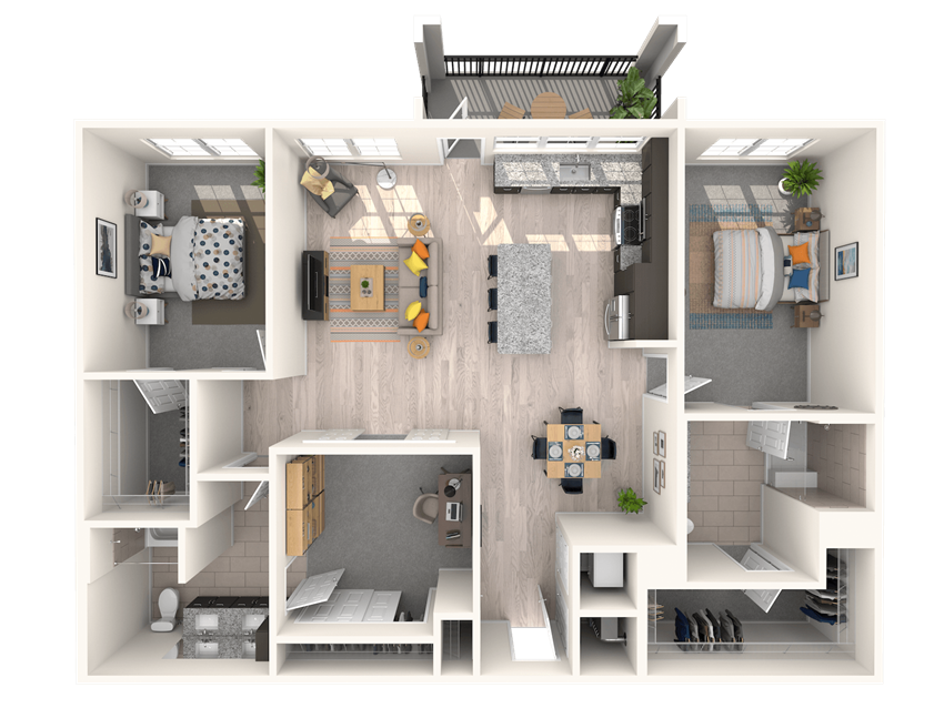 The Shirley C1 Floorplan