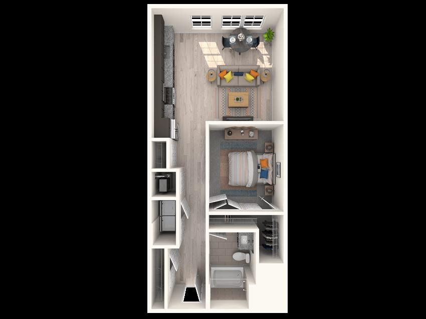 The Shirley A1 ML Floorplan