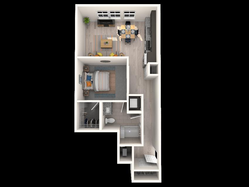 The Shirley A2 Floorplan