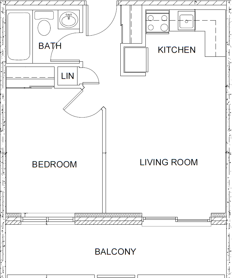 Floor Plans Of Market Street Apartments In Hamilton, ON