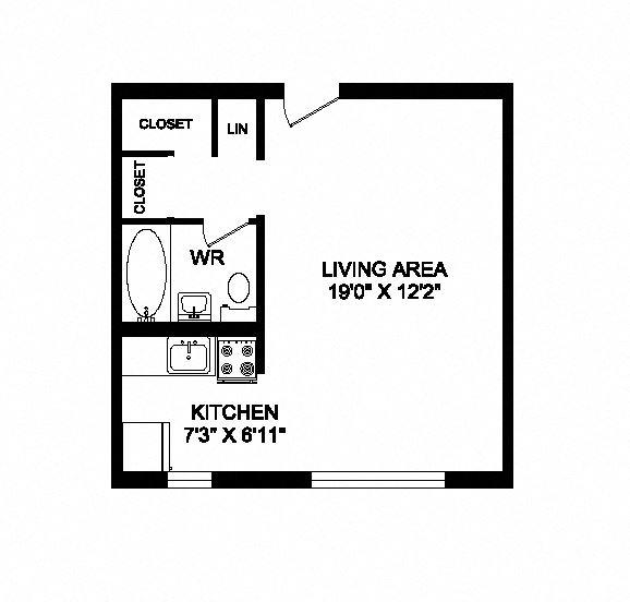 Studio, 1 bath, spacious single suites at 641 Vaughan Road in Toronto, ON