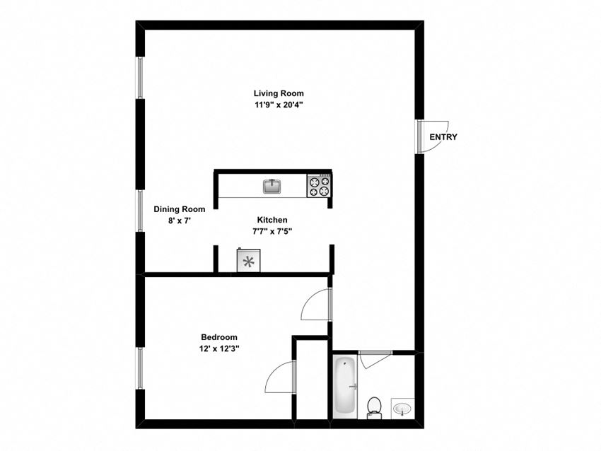 1 bed, 1 bath, relax in cozy, efficient suites at 162 Berry Road in Toronto, ON