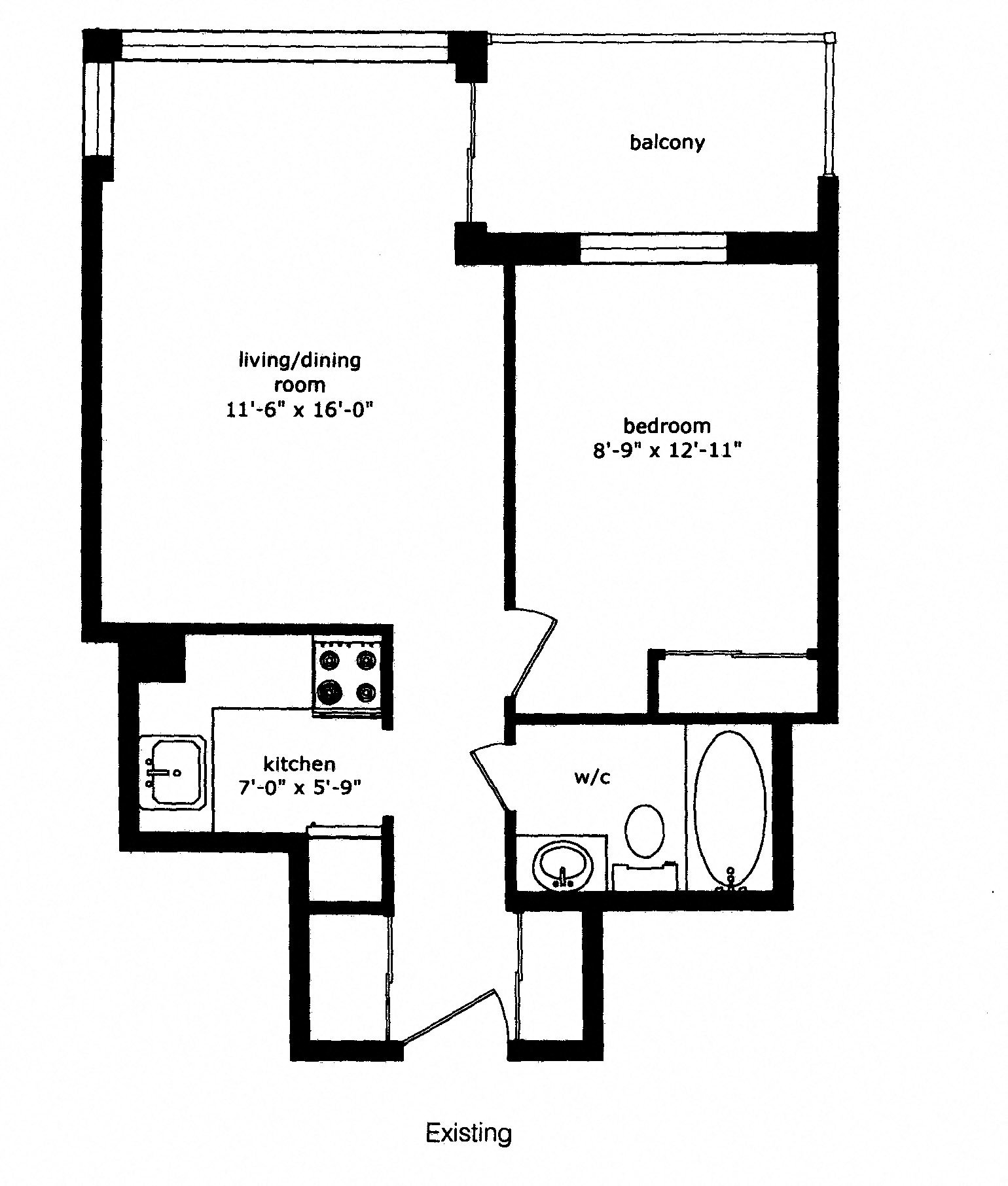 Floor Plans Of Regency Place Apartments In Whitby, ON