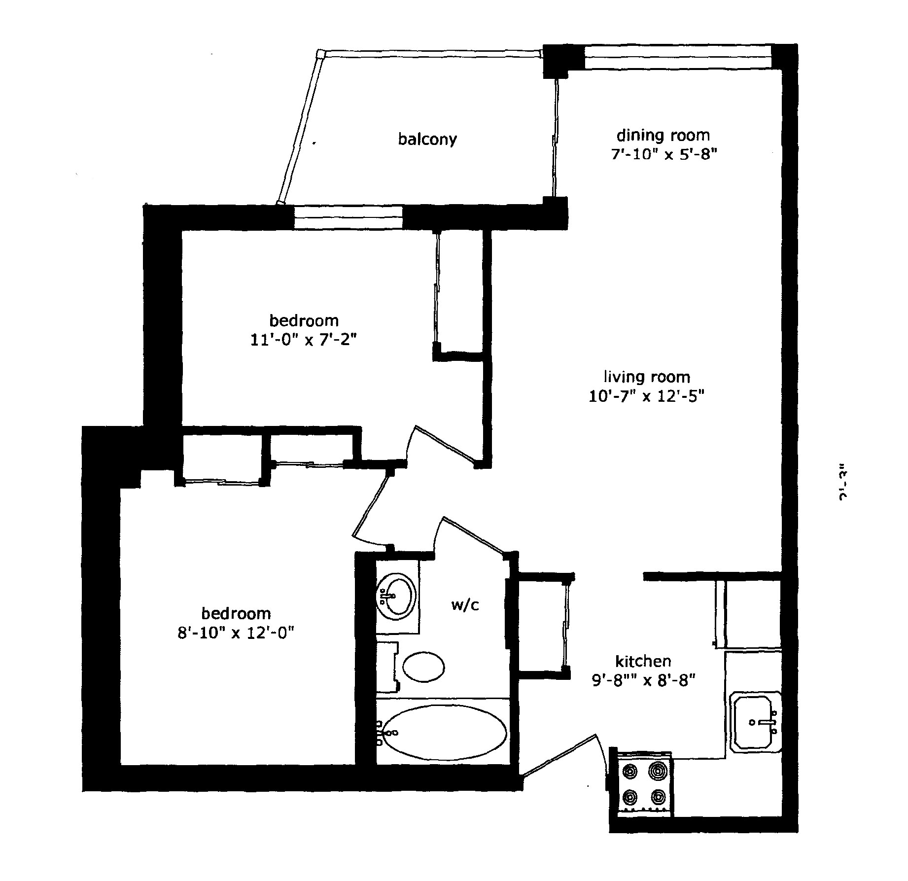 Regency Place Apartments: Floor Plans Of Regency Place Apartments In Whitby, ON