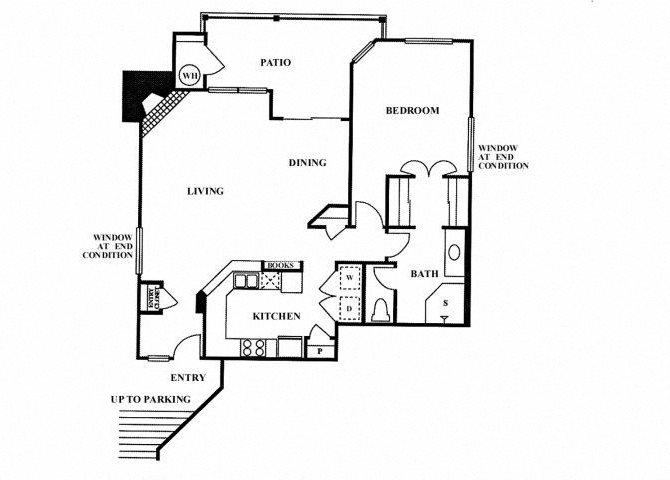 1CA floor plan.