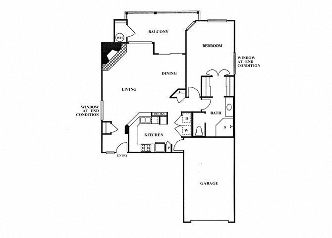 1C floor plan.