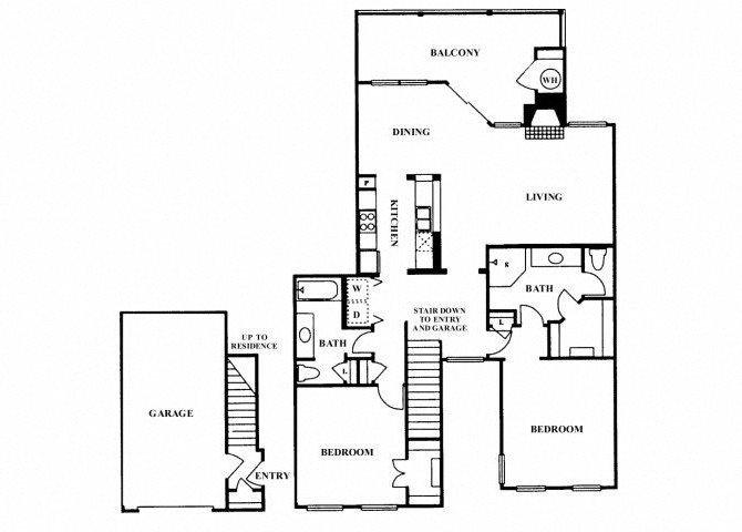 2C floor plan.