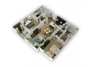 Mercury (Hg) Renovated floor plan.