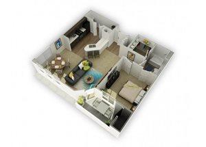 Tantalum (Ta) Renovated floor plan.