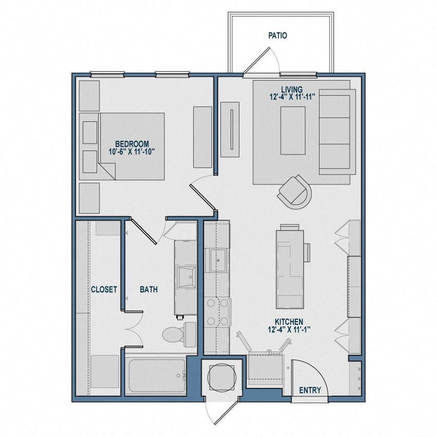 A1 Floorplan The Kathryn