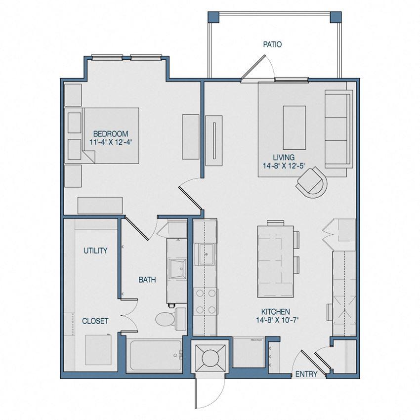 A2 Floorplan The Kathryn