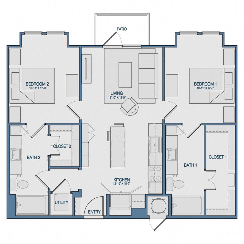 B1A Floorplan The Kathryn