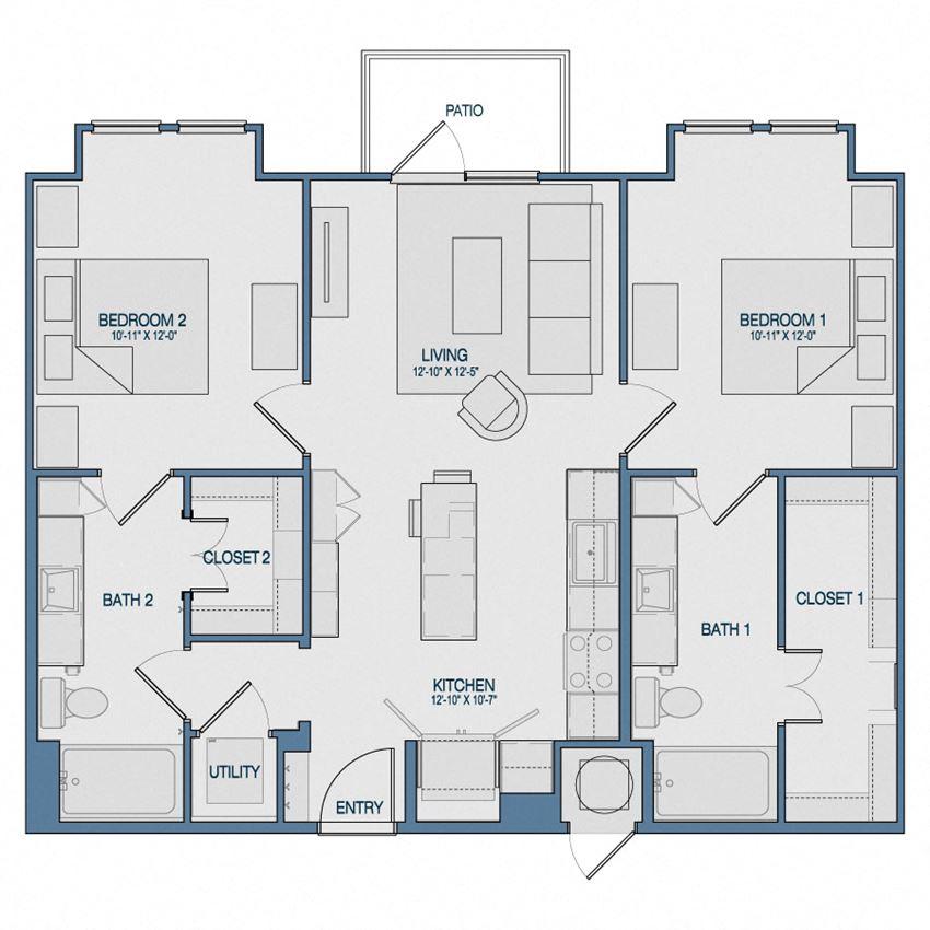 B1 Floorplan The Kathryn