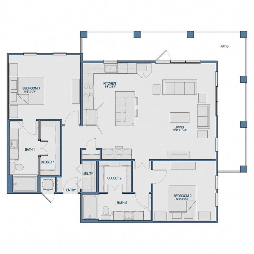 B3A Floorplan The Kathryn
