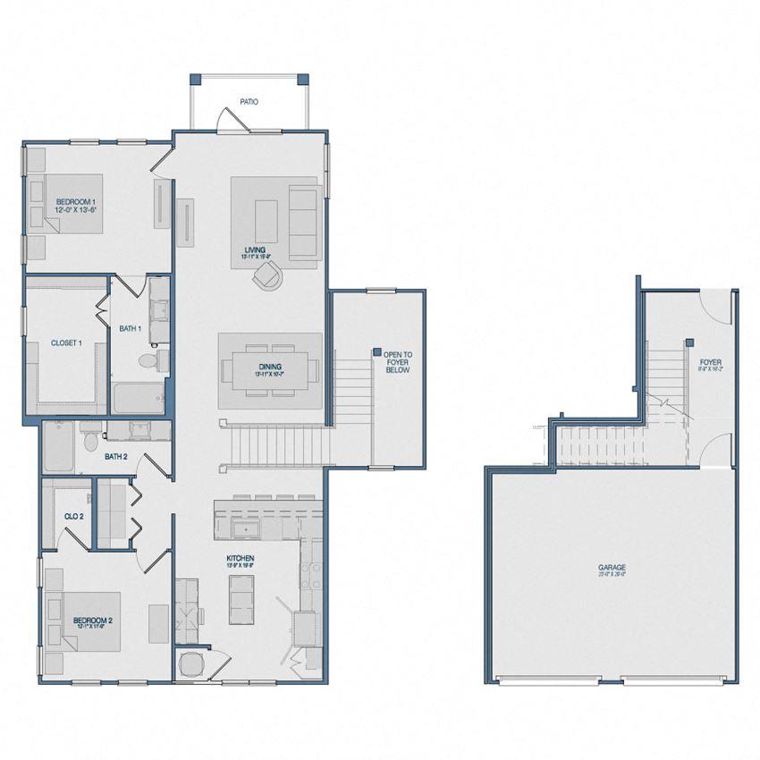 B4G5 Floorplan The Kathryn