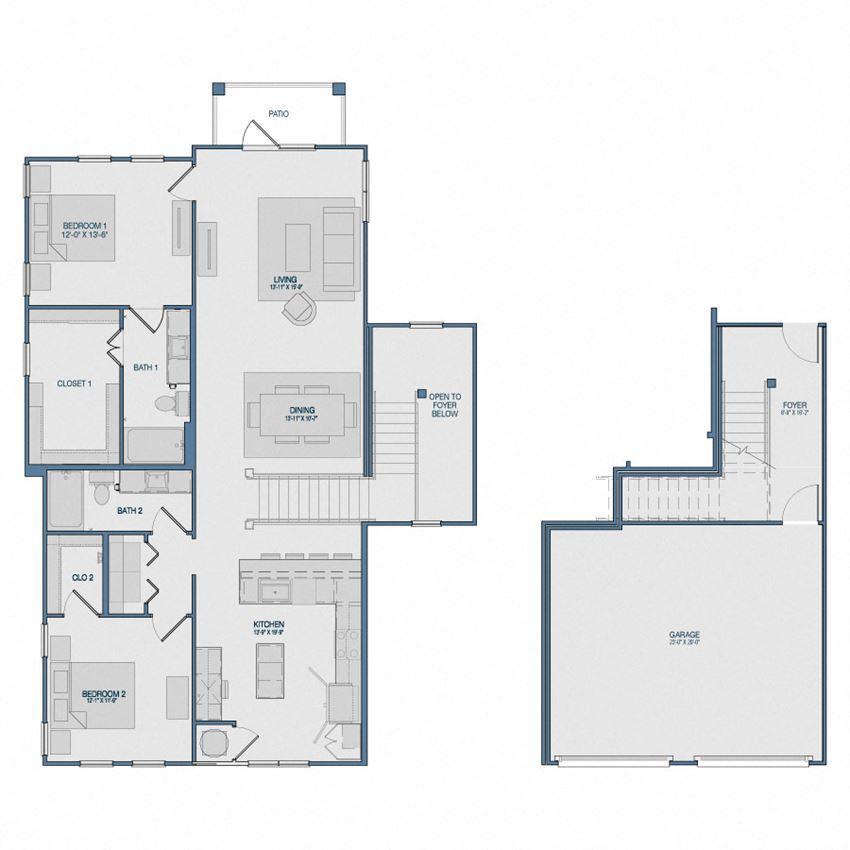B4G1 Floorplan The Kathryn