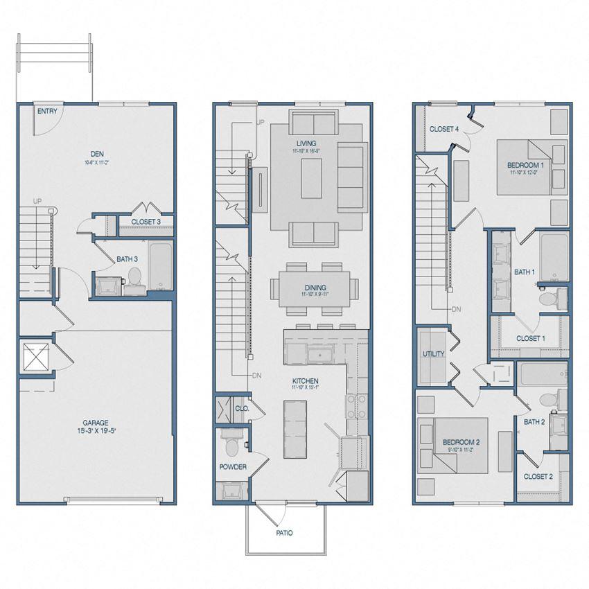 TH2A Floorplan The Kathryn