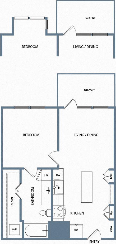 A1C Floorplan The Maxwell