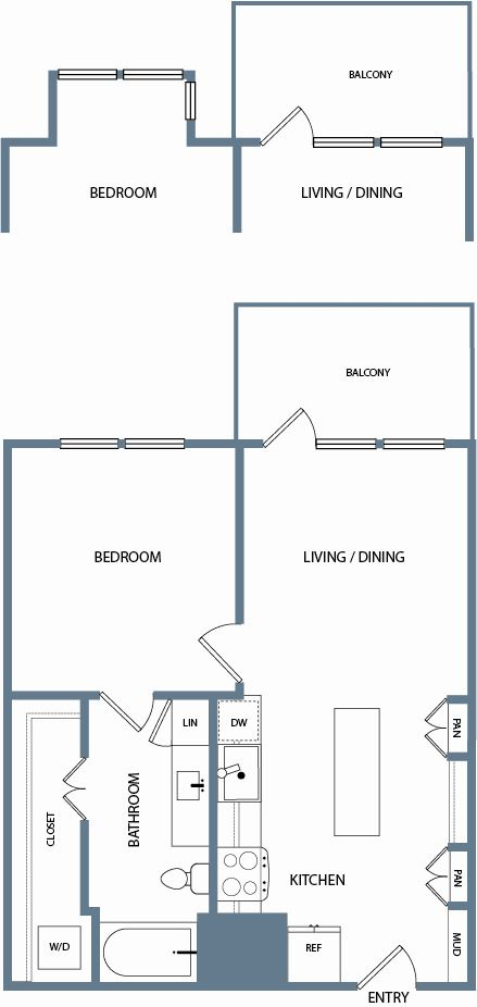 A1D Floorplan The Maxwell