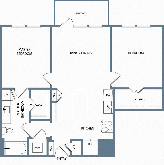 B1 Floorplan The Maxwell