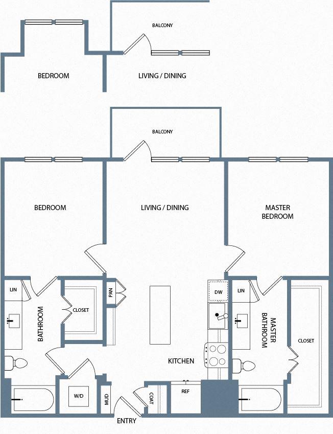 B2A Floorplan The Maxwell