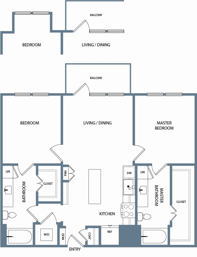 B2B Floorplan The Maxwell