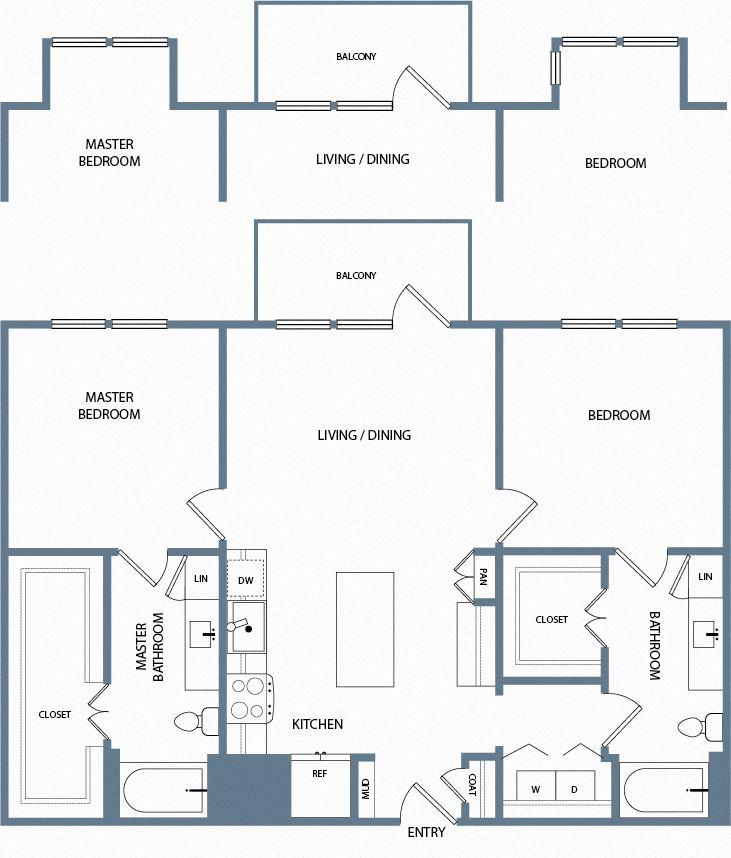 B3A Floorplan The Maxwell