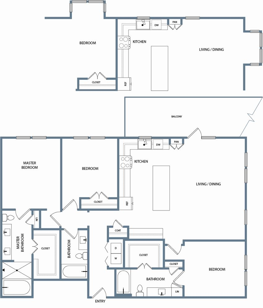 C1A Floorplan The Maxwell