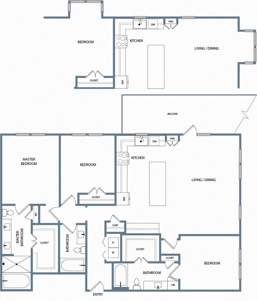 C1C Floorplan The Maxwell